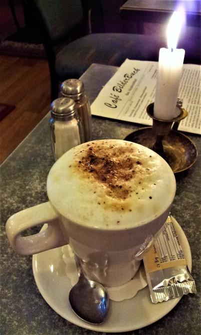 My delicious cappuccino