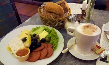 "the full program ""Tausend und eine Nacht"" breakfast with cappuccino...together very delicious"