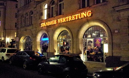 The facade of the Ständige Vertretung
