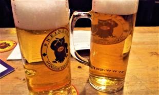 The Gaffel Kölsch, a famous beer of the Rheinland
